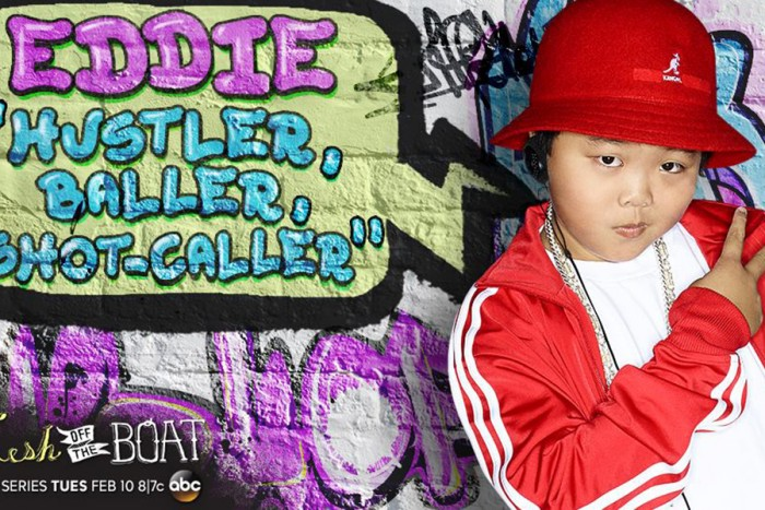 """Meet young Eddie Huang, played by Hudson Yang. (Photo via """"Fresh of the Boat"""" Facebook)"""