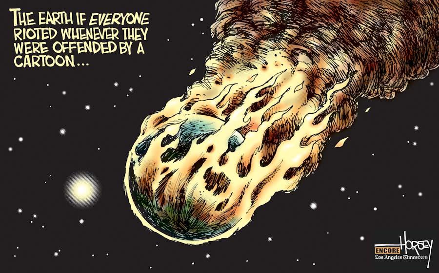 (Cartoon courtesy David Horsey / The L.A. Times)
