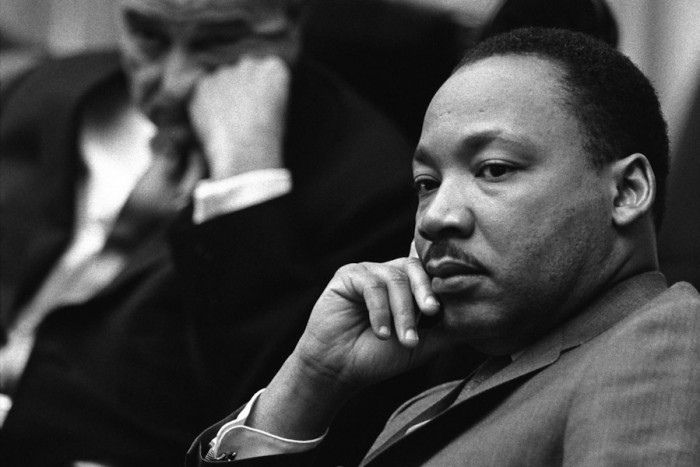 Black History Month events and curricula are mostly oriented toward iconic figures of the American Civil Rights Movement like Martin Luther King, Jr., rather than African history. (Photo by Yoichi R. Okamoto, White House Press Office)