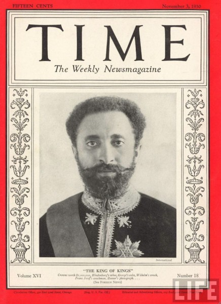 Ethiopian Emperor Halie Selassie was named Time's Man of the Year in 1936. Only one other African (Anwar Sadat) has been given the title since.