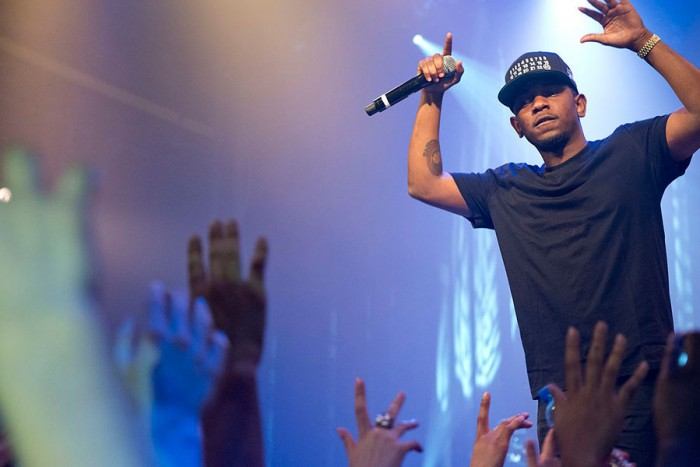 Kendrick Lamar performing in 2013. (Photo by Merlijn Hoek via Wikipedia)
