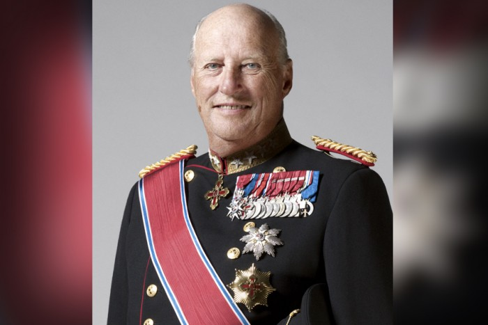King Harald V of Norway. (Photo by Sølve Sundsbø, The Royal Court of Norway.)