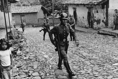 Throughout the conflict, the Salvadoran army, supported by the U.S., systematically attacked and murdered the civilian population to subdue guerrilla forces. (Photo Courtesy of Creative Commons)