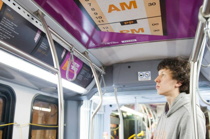 King County and 4Culture are collaborating on Poetry on Buses, which brings poetry from different cultures and languages to mass transit. Photo by Timothy Aguero for Poetry on Buses.