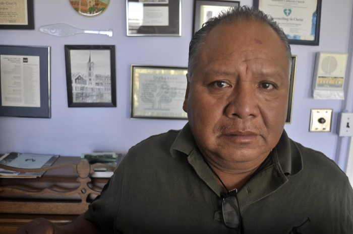 Estanislao Mendoza Chocolate is the father of Miguel Ángel Mendoza Zacarías, a 33-year-old student at the teaching college in Ayotzinapa who has been missing since September.