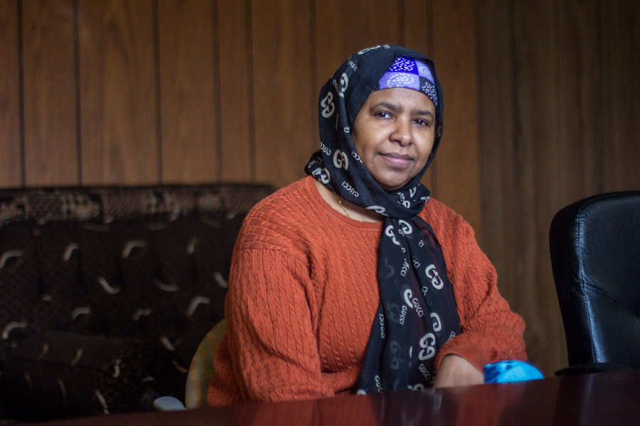 Sahra Farah, Director of Somali Community Services of Seattle. (Photo by Jama Abdirahman)