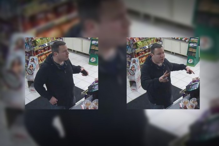 King County Sheriff's Office released these photos of a man that police say showed a gun to Muslim women and made hateful remarks. (Photos courtesy the King County Sheriff's Office.)