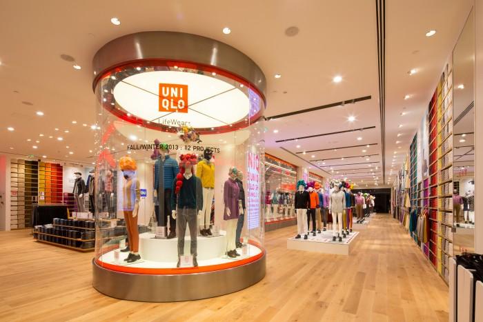 Uniqlo store in Shanghai. (Photo by Uniqlo.)