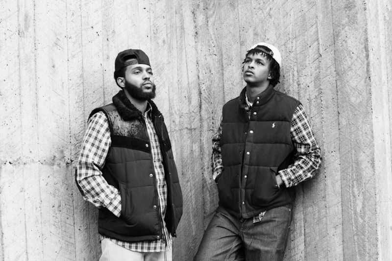 Krown (left) and Chino'o (right) met in Seattle and began making music together in their teens (Photo by Tendai Maraire).