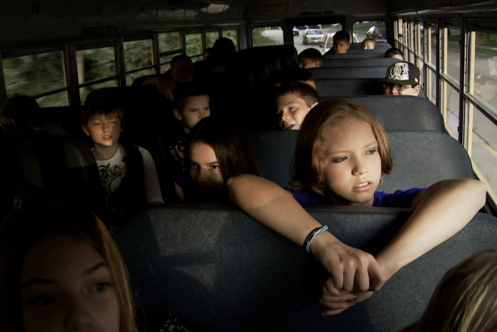 """A still from the 2011 documentary """"Bully"""" part of an international campaign to raise awareness about peer-to-peer bullying. Some Muslim Americans say the movement hasn't done enough to confront bullying of Muslims based on religion."""