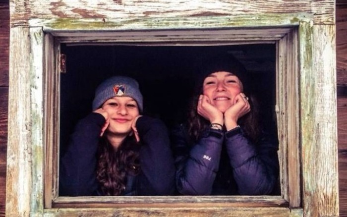 Bailey Meola and Sydney Schumacher, both 19, are believed to have been killed in the Nepal earthquake. (Photo via IndieGogo.)