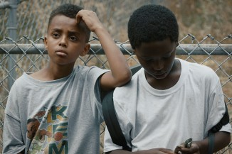 "Natnael Moges and Eyobe Alemu play two boys living in the Yesler Terrace housing project in the 1990's in the short film ""Hagereseb."""