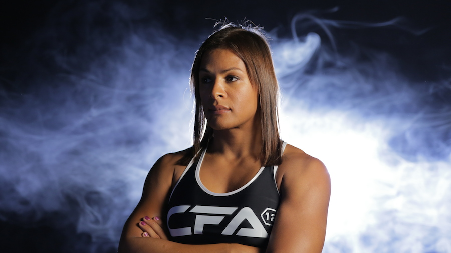 "MMA Fighter Fallon Fox (by Michiel Thomas, ""Game Face"")"