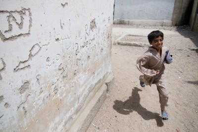 A 2009 photo shot by The Globalist's editor in chief around Ghost School in Karachi, Pakistan. (Photo by Alex Stonehill)
