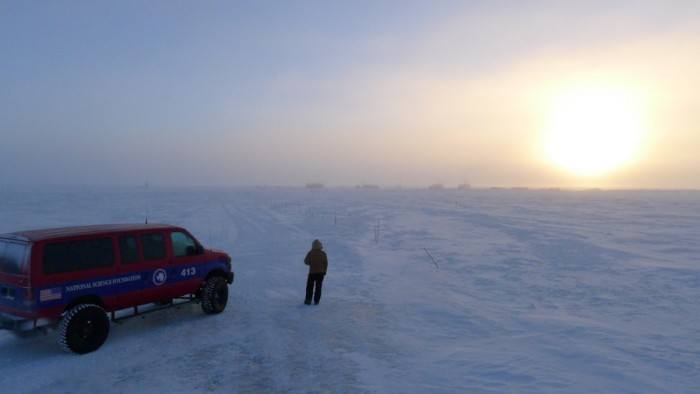 Most of the residents of McMurdo are scientists conducting field research, with a few support staff like  carpenters and cooks. (Photo by Nasko Abadjiev)