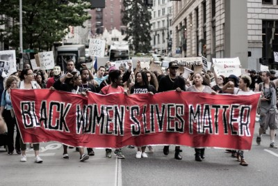 #BlackLivesMatter March on Seattle in solidarity with Baltimore and Freddie Gray on May. 9. (Photo by Jama Abdirahman)