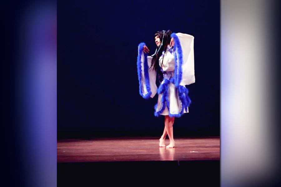 Joey Lu performs as his drag persona, Yuki. (Photo courtesy of Joey Lu)