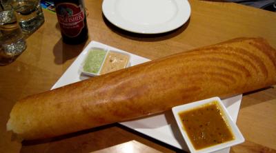 Dosa roasted with Ghee.(Photo via Kitchenoperas.com)