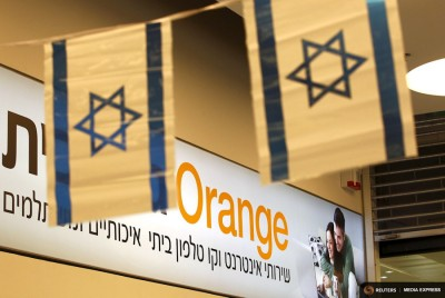 The CEO of French-owned Orange mobile company recieved death threats last month after he made comments that were counstrued to support a boycott of Israel. (Photo from REUTERS / Ronen Zvulun)