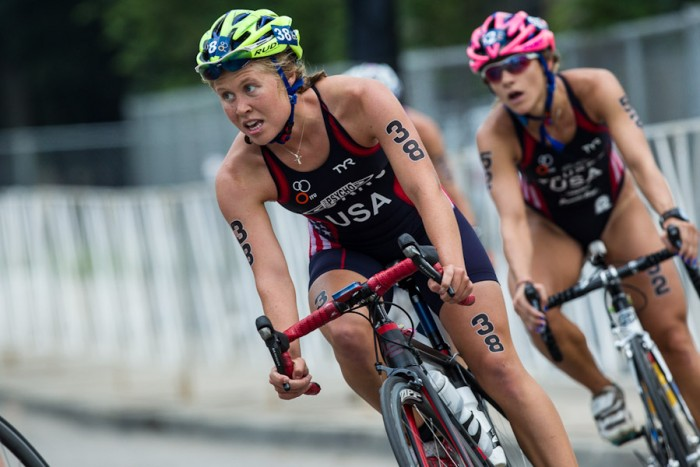 Seattle native Chelsea Burns is in Toronto to compete in the triathalon at the Pan-American Games. (Photo courtesy of Paul Phillips / Competitive Image)