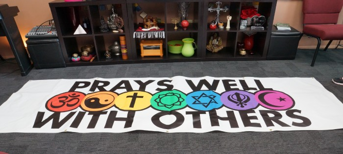 The banner used at one of the recently concluded services at Amor Spiritual Center.
