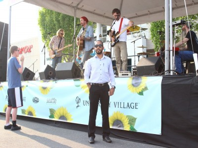 Personally experiencing the Maldives music at U Village, enjoyed every second of it. (Photo by Saroj Karki)