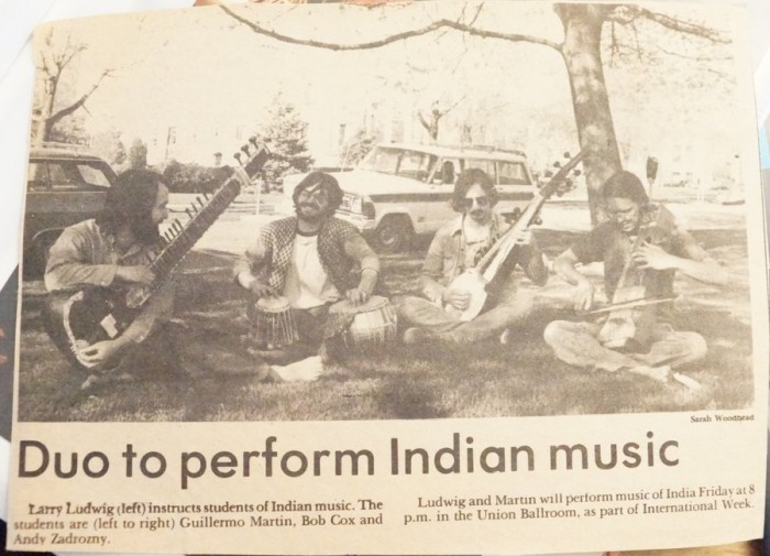 From Larry's book of News Clippings (Photo By: Aqsa Zaidi)
