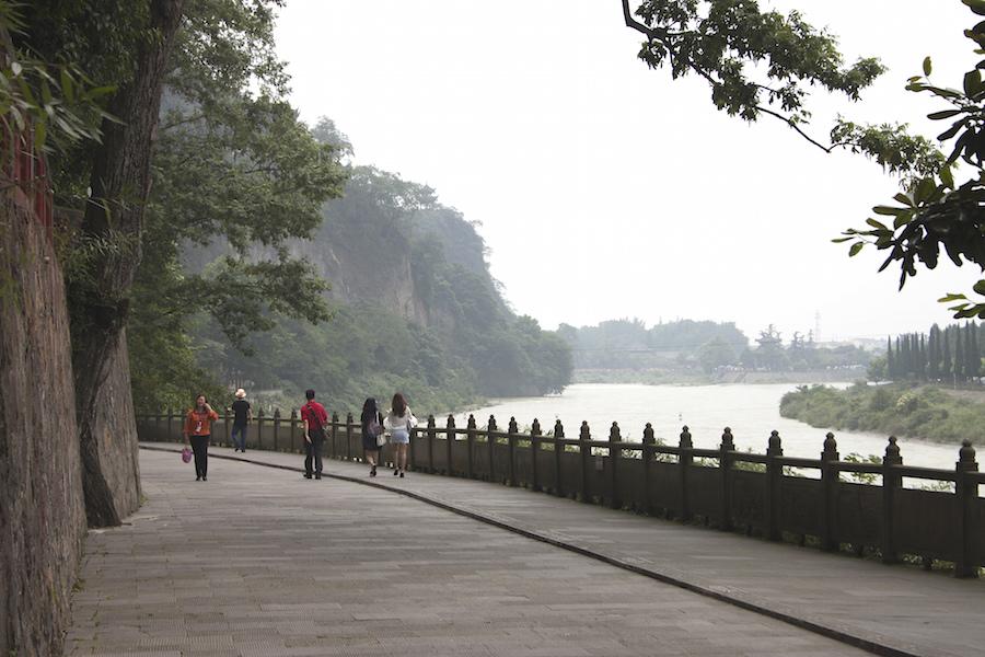 Mijiang River on June 13, a week before a major typhoon hit Fujian Province. (Photo by Ye Fang Kuan via Creative Commons license)