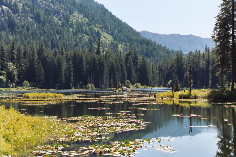 Howard Lake, also known as Coon Lake, in North Cascades National Park. (Photo by National Parks Service via Flickr.)