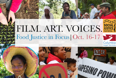 The Food Justice in Focus film festival is October 16-17.