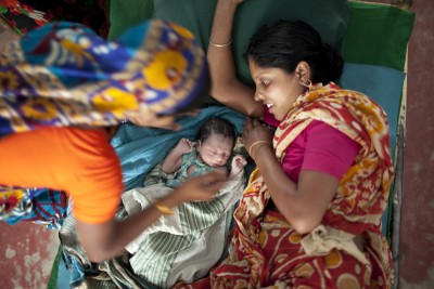 Since 2001, Bangladesh's maternal mortality rate has declined by 40 percent. Photo: Chantal Anderson