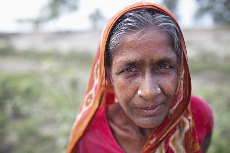 A grandmother and farmer in central Bangladesh. Photo: Chantal Anderson