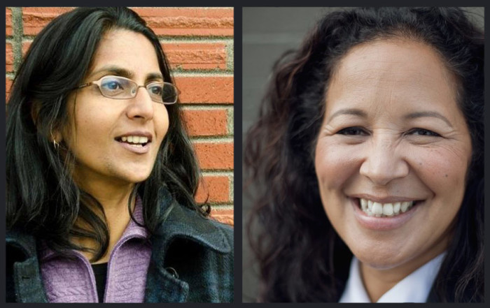 Pamela Banks (right) is challenging incumbent Kshama Sawant (left) for City Council District #3, which includes the Central District and Capitol Hill.