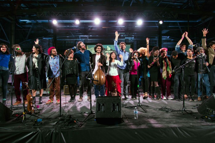 Twenty four musicians will collaborate at a variety of events in Seattle from Nov. 2 to 7 for the OneBeat Festival. (Photo courtesy of Found Sound Nation)