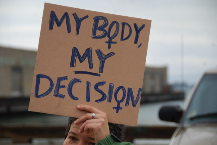 A 2009 Pro-Choice protest in San Francisco. (Photo from Flickr by Steve Rhodes)