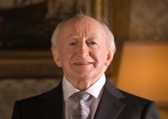 His Excellency Michael D. Higgins, President of Ireland