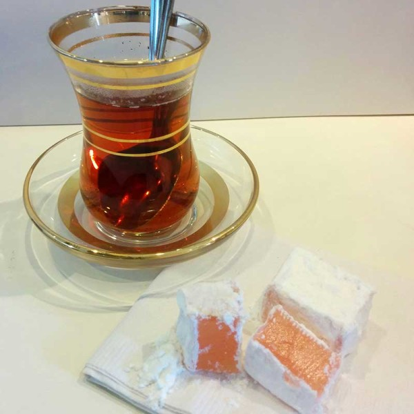 Turkish sweets will be paired with tea at a weekend tasting that is part of the World of Tea Series. (Photo courtesy Virginia Wright)