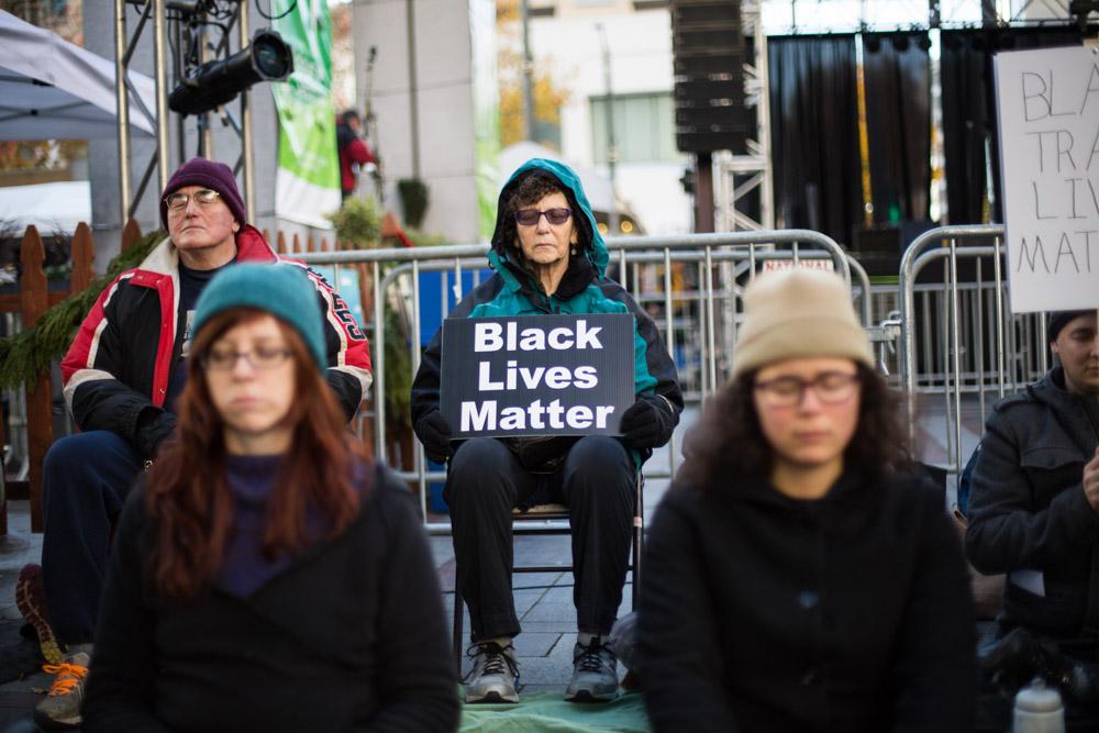 Seattle celebrates Black Lives Matter Friday. (Photo by Jama Abdirahman)