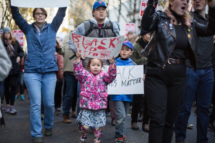 Seattle celebrates Black Lives Matter Friday.