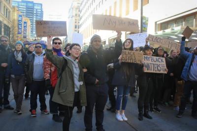 Seattle celebrates Black Lives Matter Friday. (Photo by D.j. Martinez)