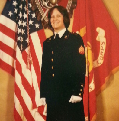 Sgt. Julia Sheriden during her active duty in the United States Marine Corps. (Photo courtesy of Julia Sheriden)