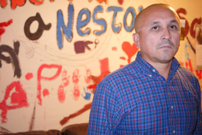 José Luis Avila, of Renton, is fighting for the release of his wife from Mexico. (Photo by Liz Jones / KUOW)