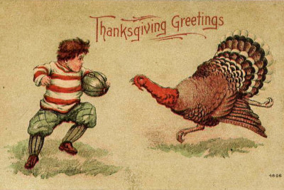 While we Americans are busy playing football against a giant turkey, tons of other countries are celebrating Thanksgiving in their own unique ways. (Photo from Flickr)