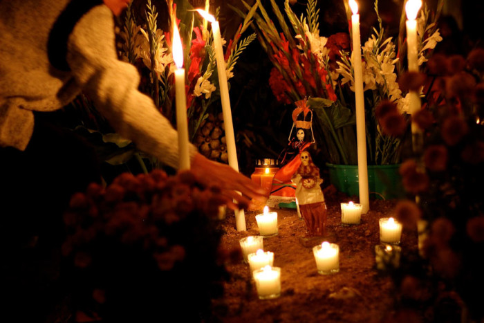 Dia de los muertos in Oaxaca stays true to its roots, and people from all over Mexico come to celebrate the sprits of those who have died. (Photo by Alysa Hullett.)