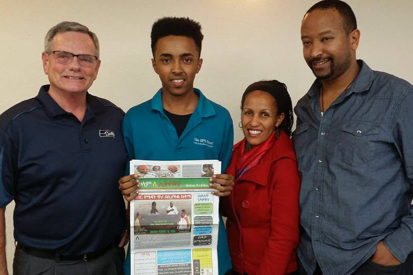 The Rainier Beach Merchants Association held a resource fair to help local business owners find ways to address the unique needs of East African business owners. (Photo courtesy Rainier Beach Merchants Association)