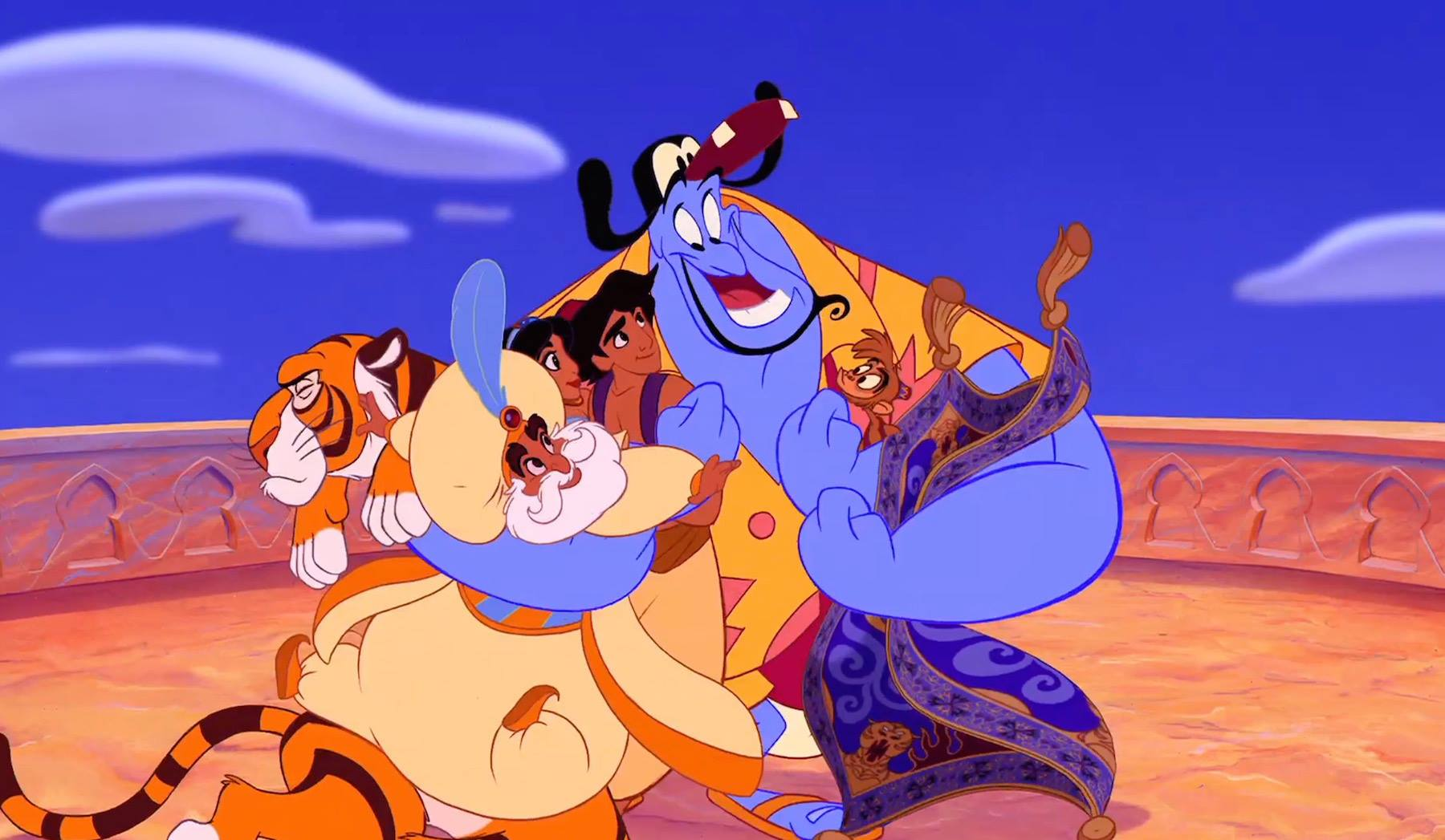 """Agrabah is not a real place. (Photo via Disney's """"Aladdin"""" Facebook page.)"""