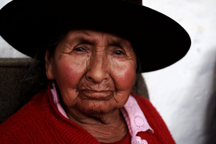 A resident of the Casa de Ancianos, Manchay's senior center.(Photo by Rustin Thompson)