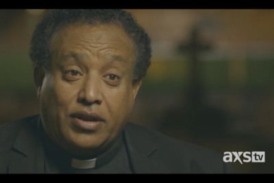 Pastor Berhanu Seyoum of Seattle helps Ethiopian children who wash out of adoptive families in the Northwest. (Still from Unwanted in America)