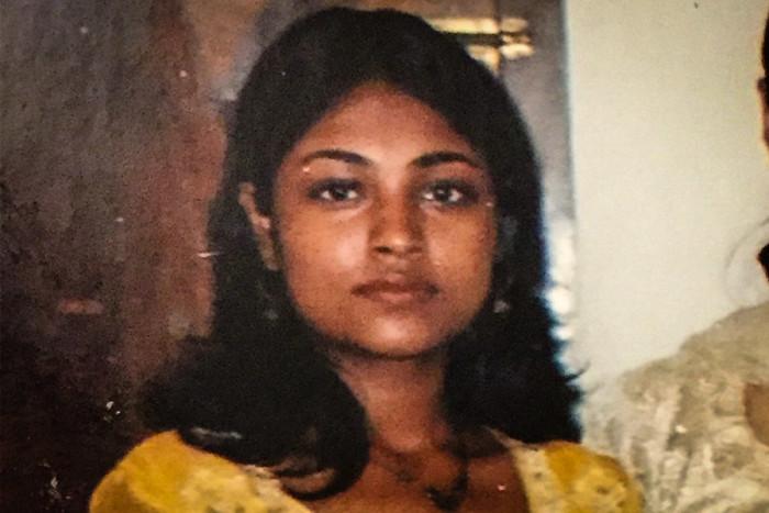 Sandhiya van den Eikjhof immigrated from Kerala, India to Chicago in 2002 at age 17 when her mother got a job in the United States. (Photo courtesy Sandhiya van den Eijkhof.)