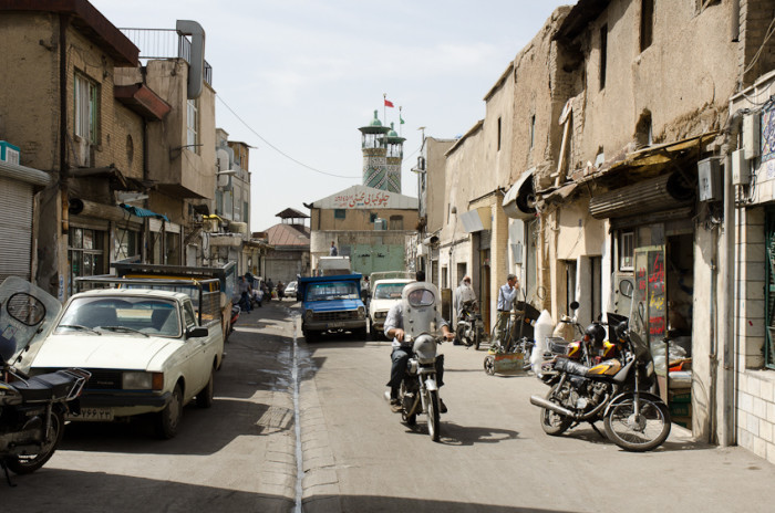 Main street in Hamoomchaal, Iran. (Photo by Kamyar Adl via Flikr)